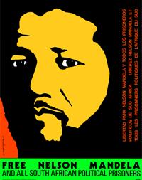 Free Nelson Mandela Poster
